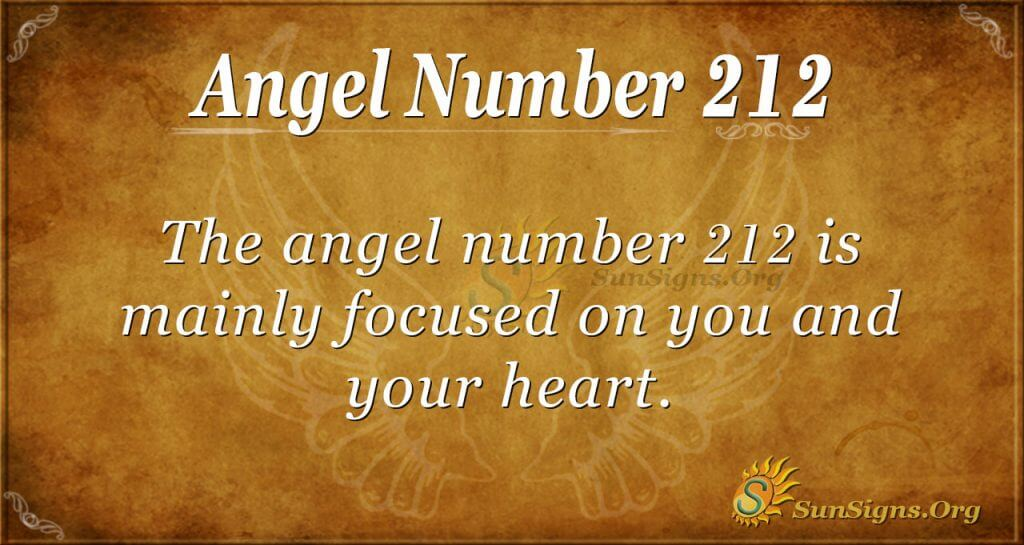 angel number 212