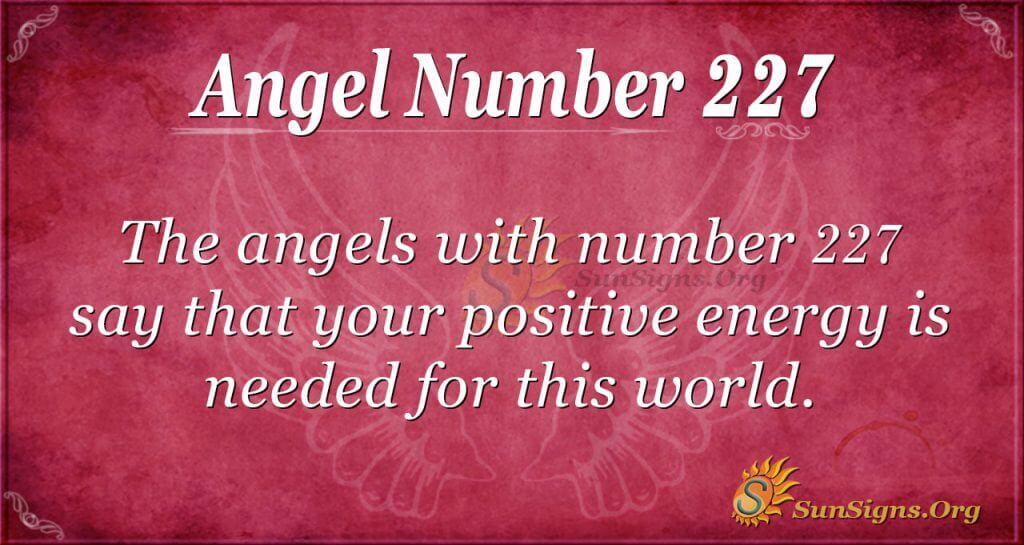 angel number 227