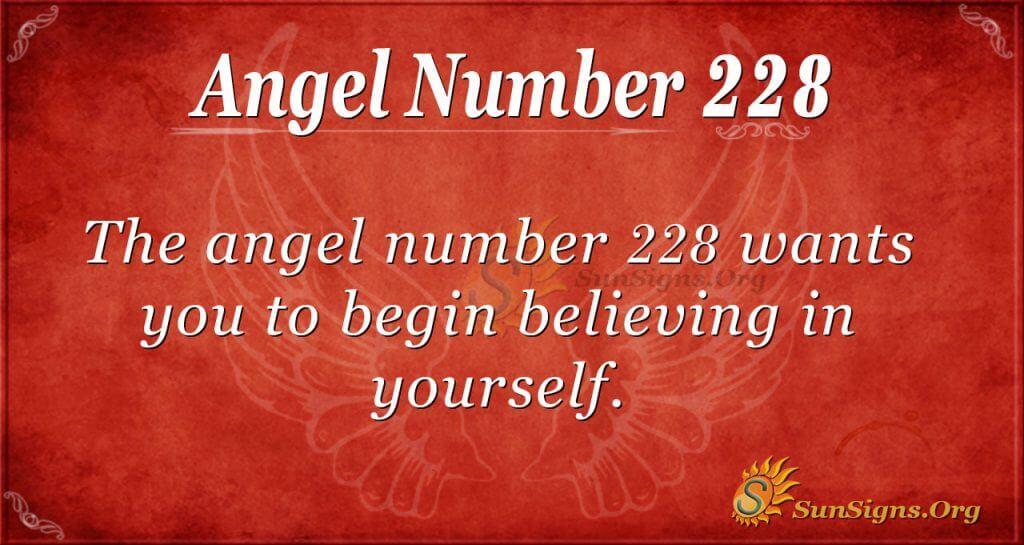 angel number 228