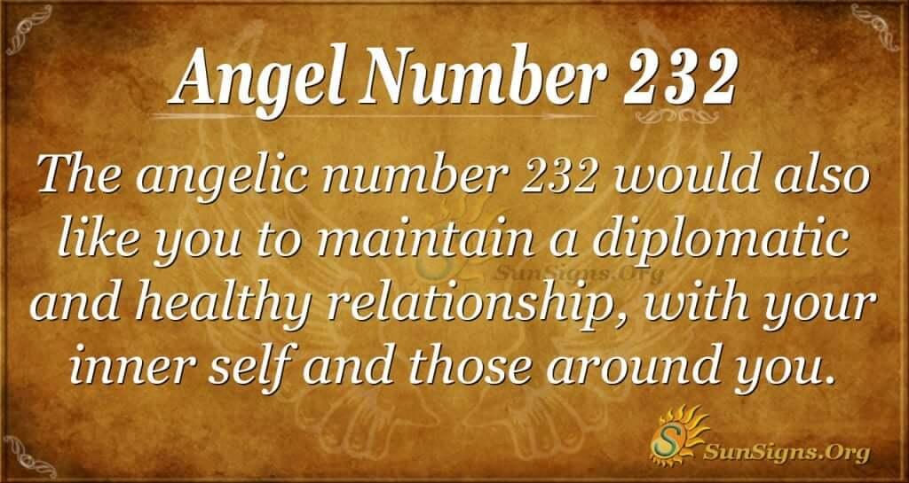 angel number 232