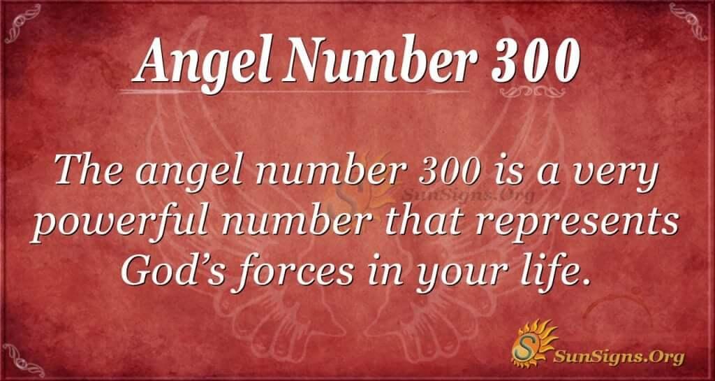Angel Number 300