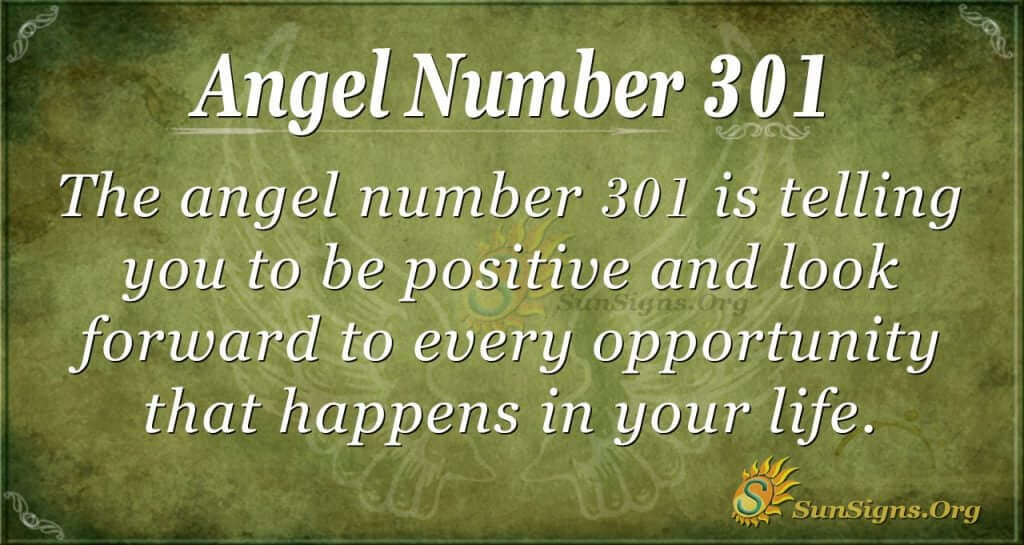Angel Number 301