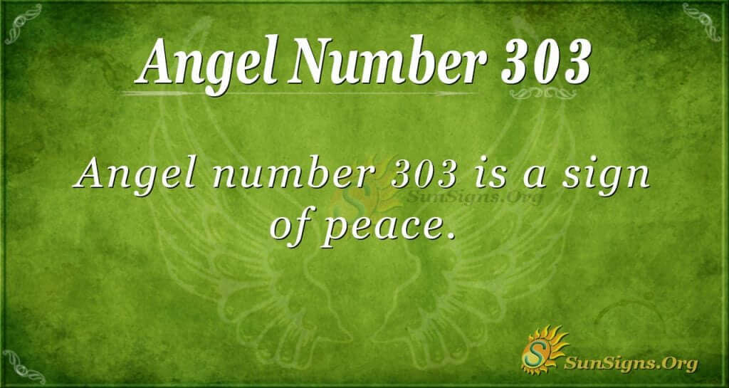 Angel Number 303 Meaning | SunSigns Org