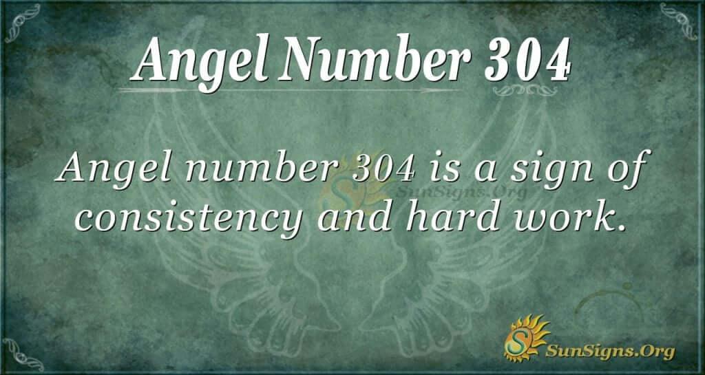 Angel Number 304