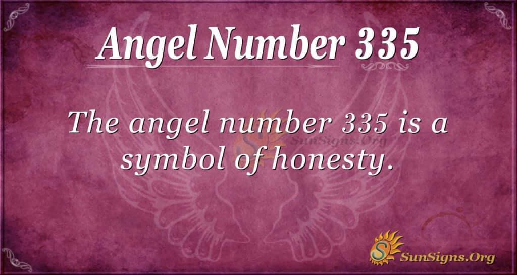 Angel Number 335