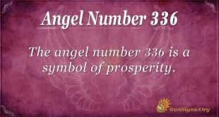 Angel Number 336