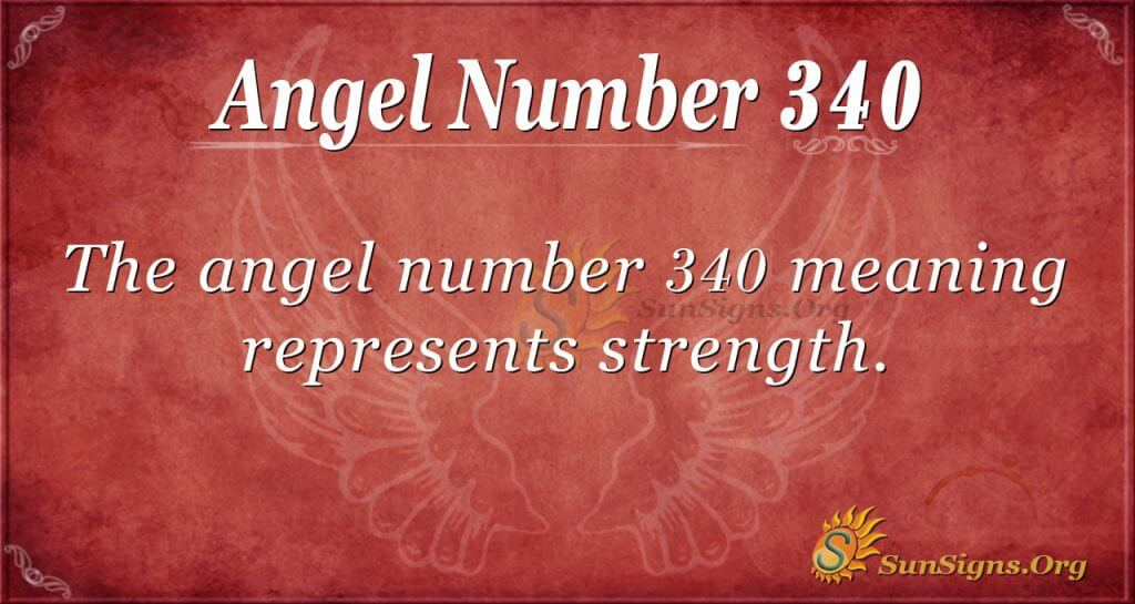 Angel Number 340