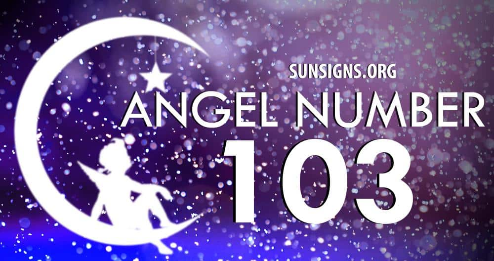 angel number 103