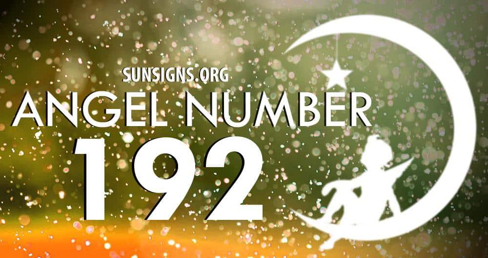 angel number 192