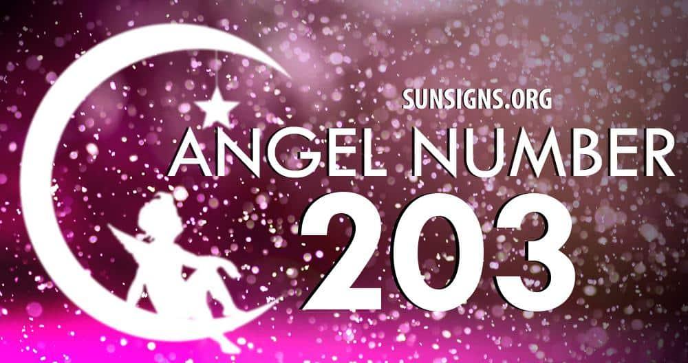 angel number 203