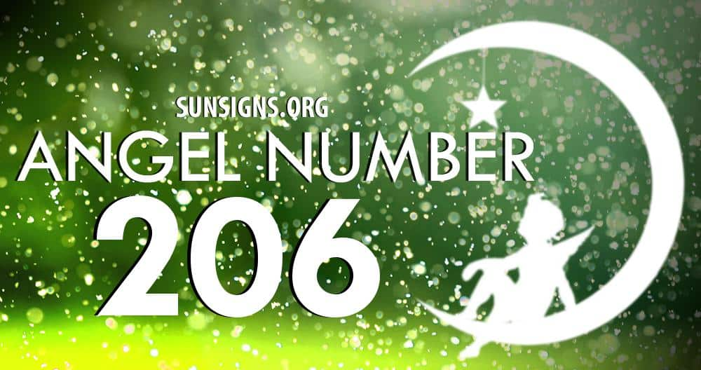 angel number 206