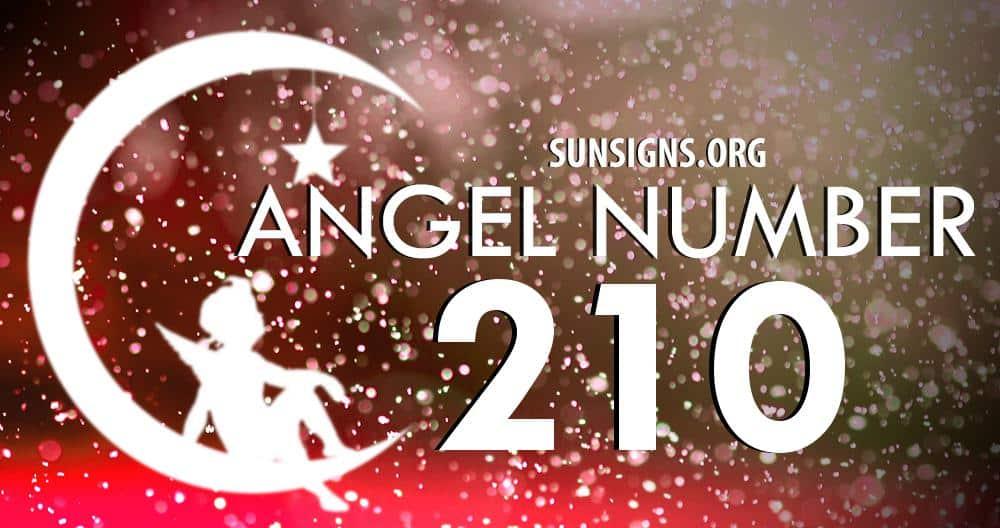 angel number 210