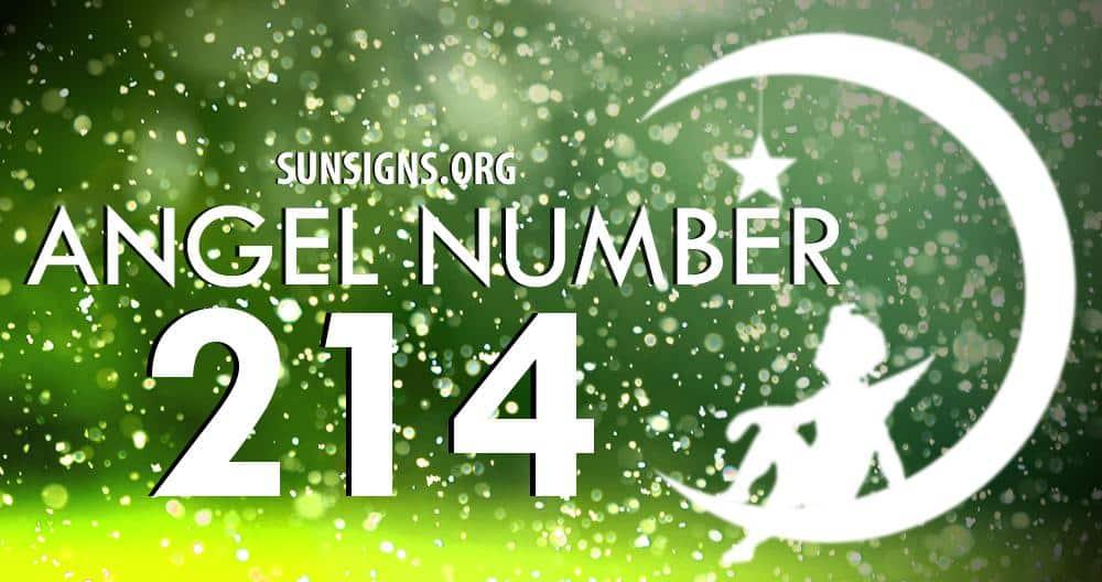 angel number 214
