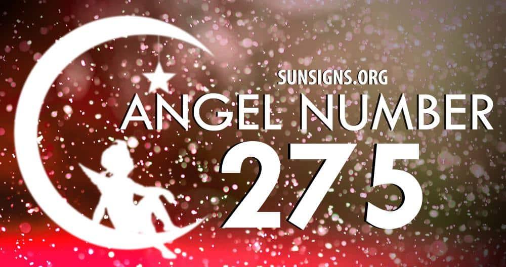 angel number 275