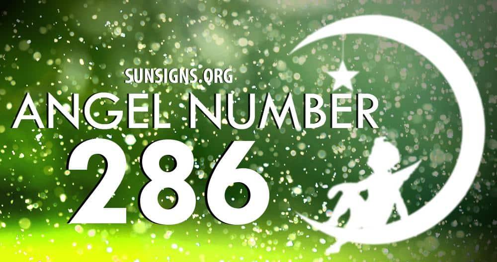 angel number 286