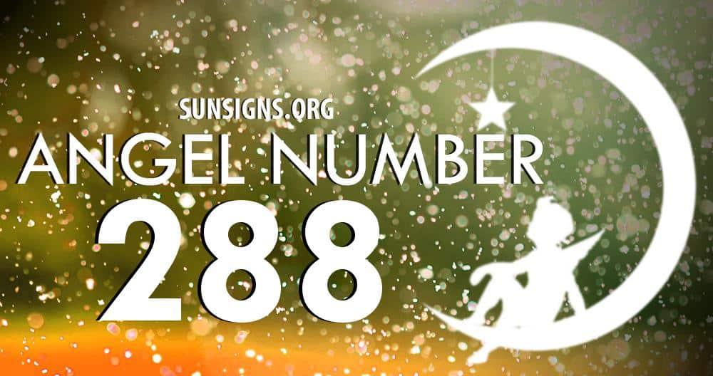 angel number 288