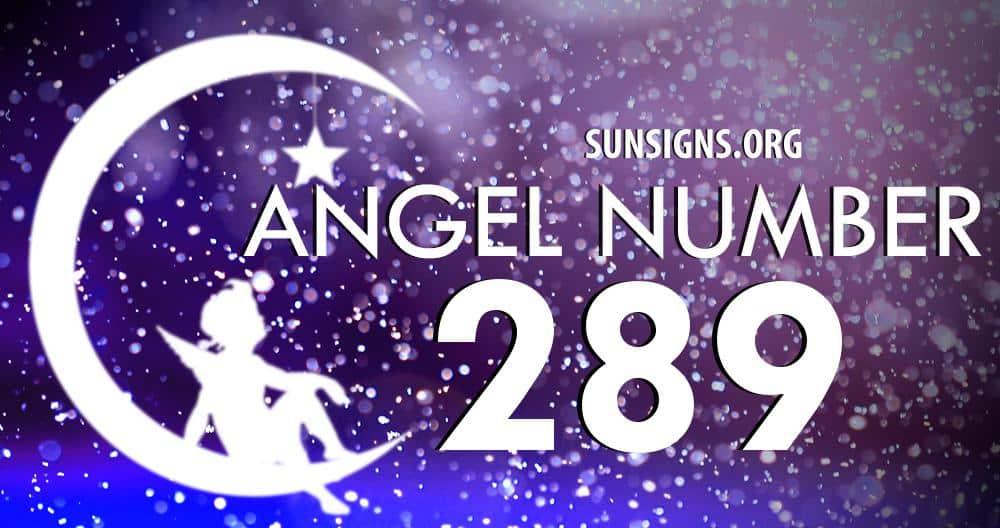 angel number 289