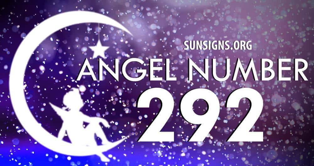 angel number 292