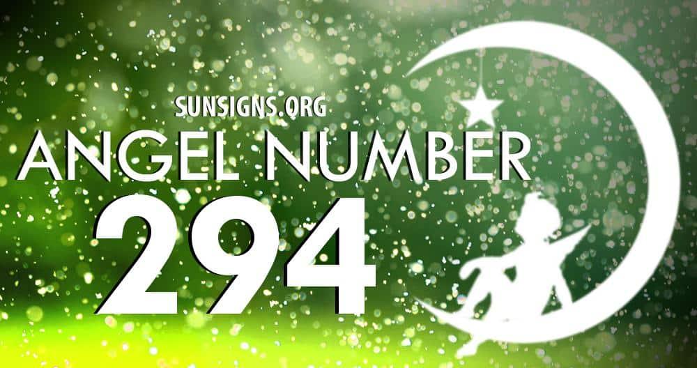 angel number 294