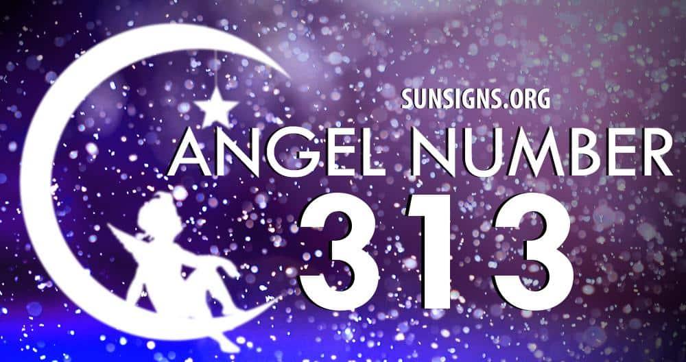 angel number 313