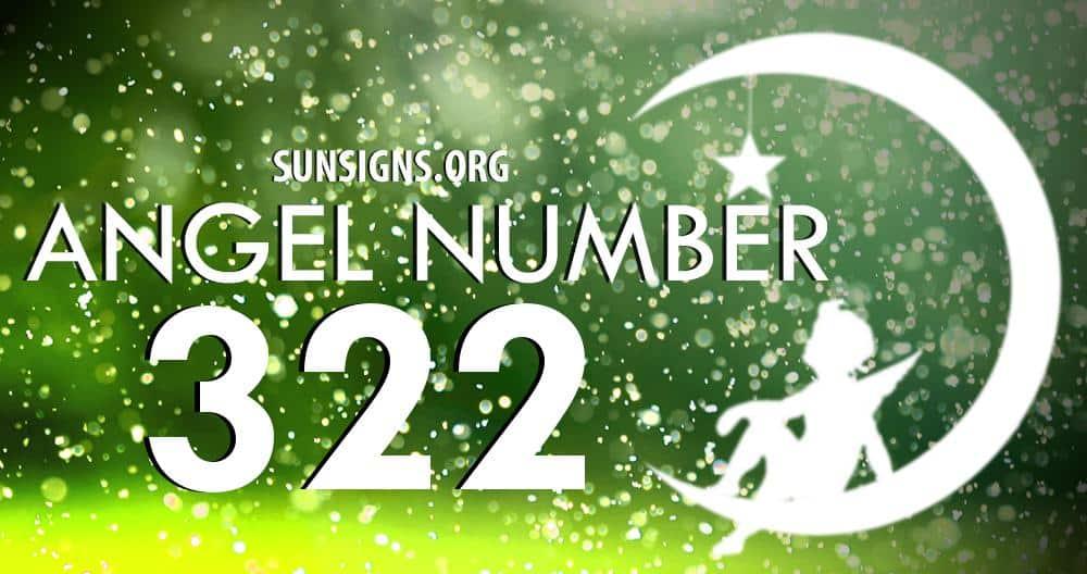 angel number 322