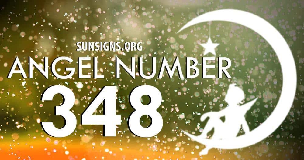 angel number 348