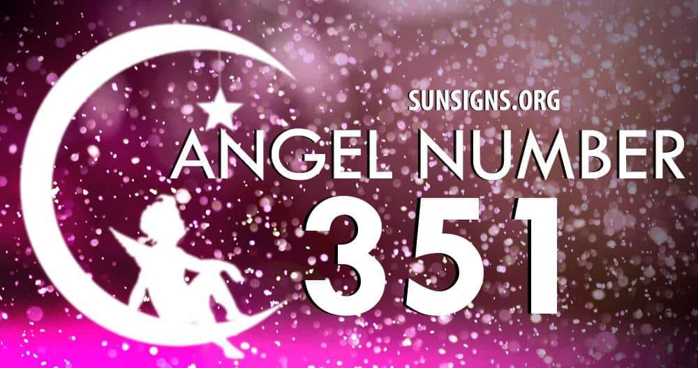 angel number 351