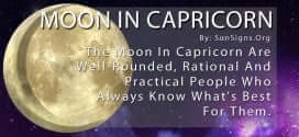 The Moon In Capricorn Are Well-Rounded, Rational And Practical People Who Always Know What's Best For Them.