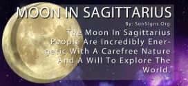 The Moon In Sagittarius