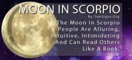 The Moon In Scorpio People Are Alluring, Intuitive, Intimidating And Can Read Others Like A Book.