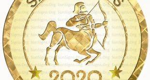 sagittarius horoscope 2020