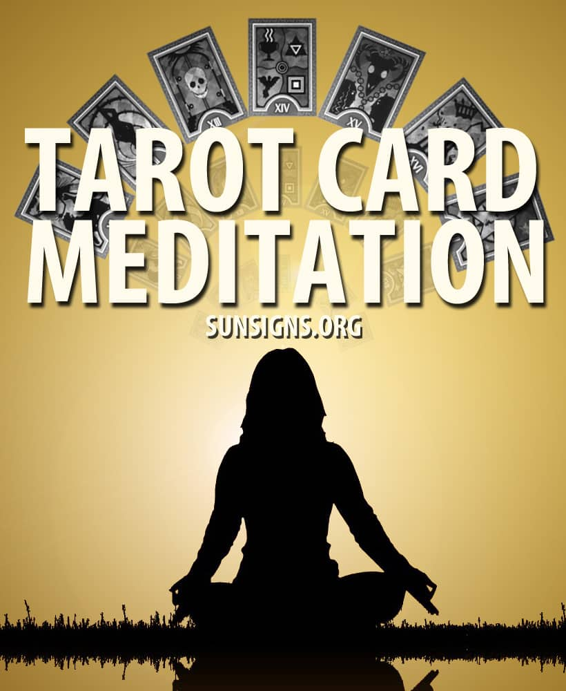 Tarot meditations are a wonderful way of connecting with your personal deck