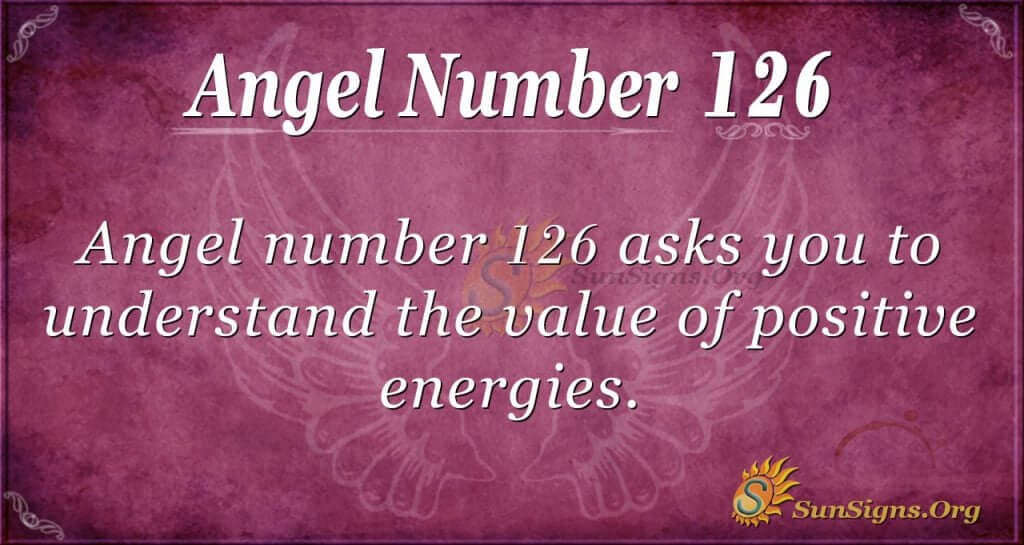 angel number 126