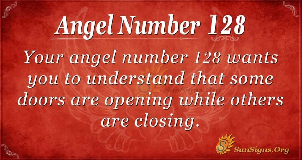 angel number 128