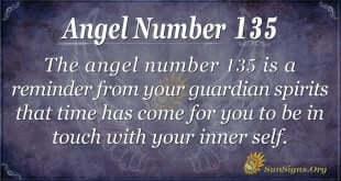 angel number 135