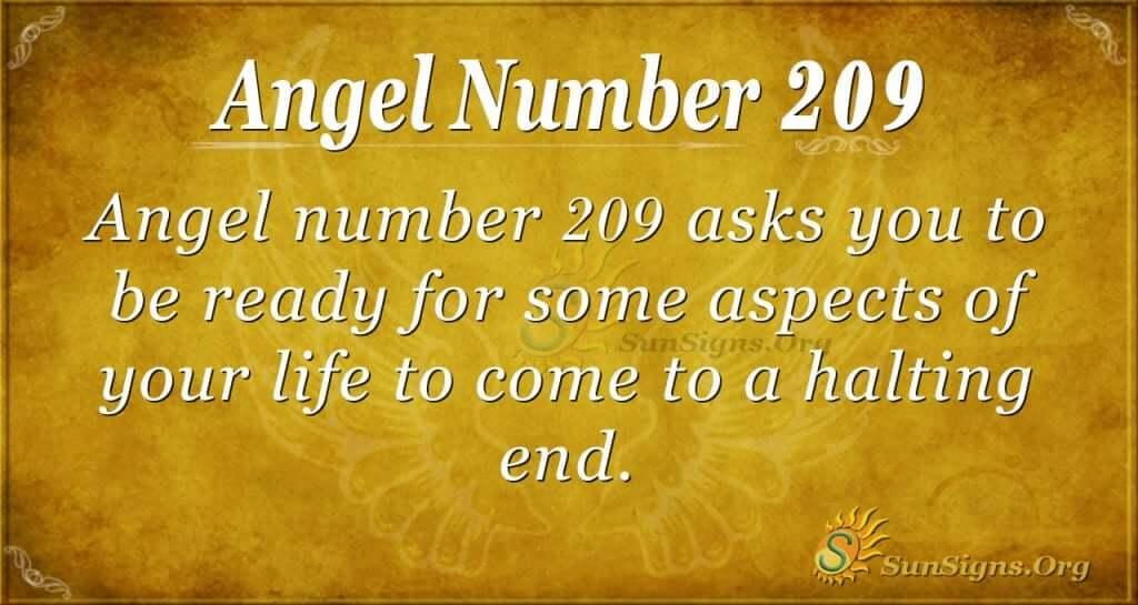 angel number 209