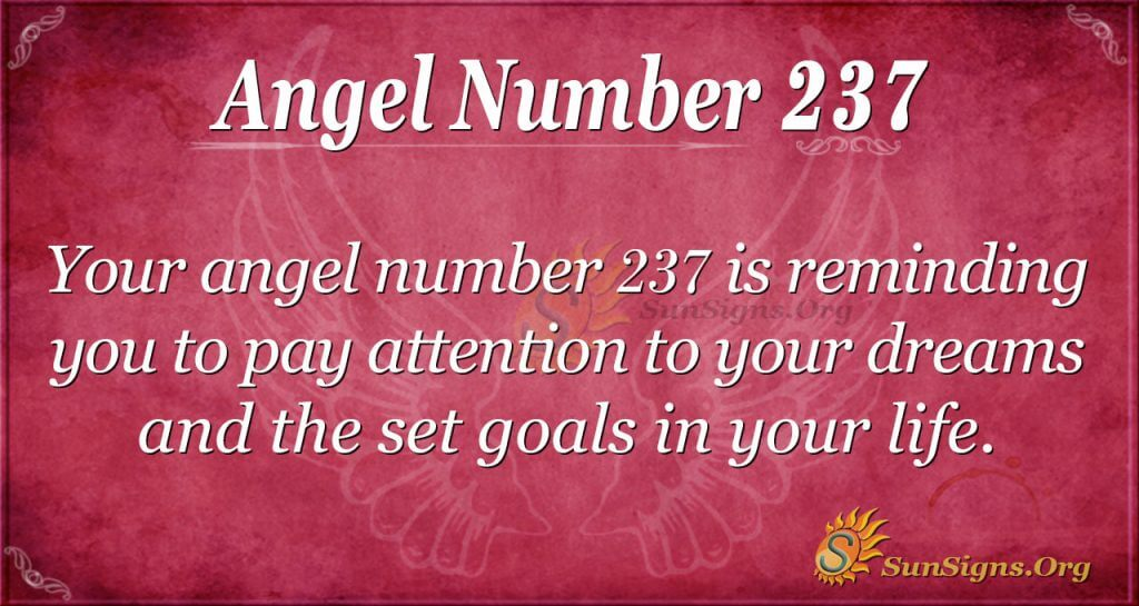 angel number 237