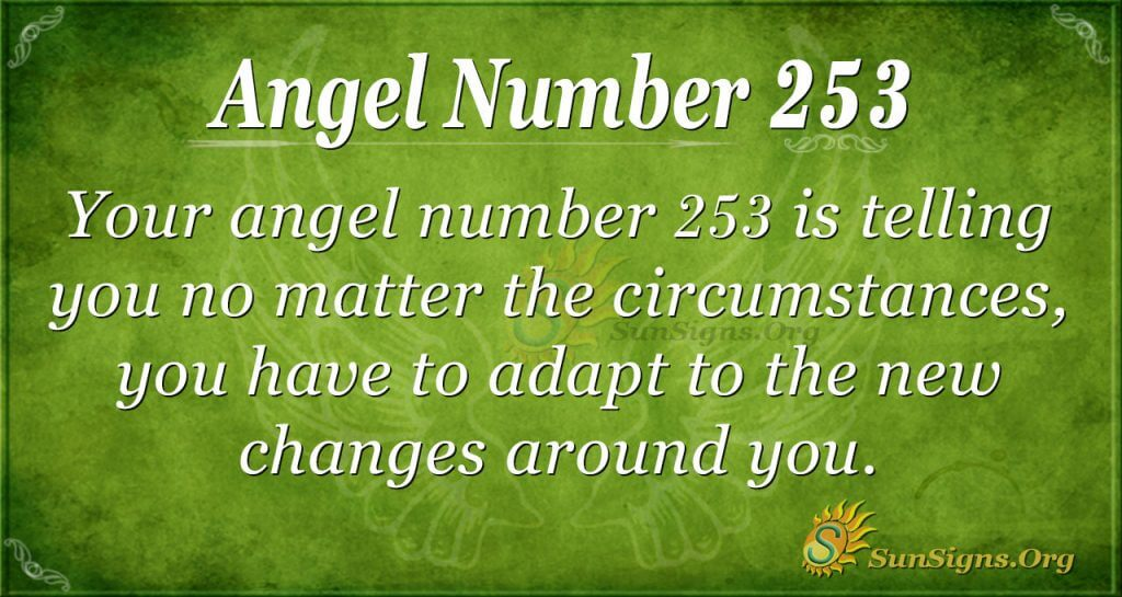 Angel Number 253