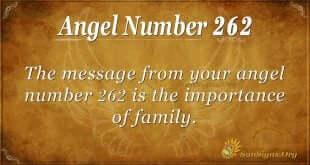Angel Number 262