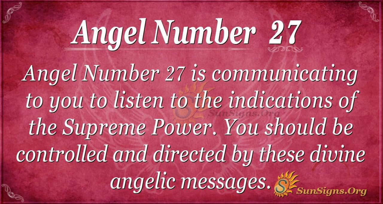 numerology 27 january day meaning