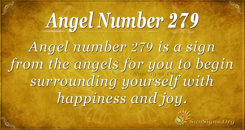 angel number 279