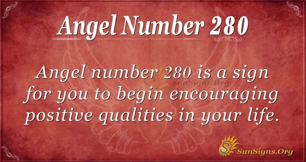 angel number 280