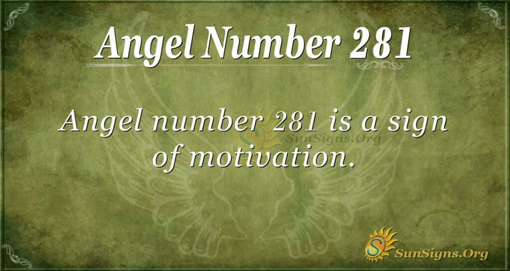 angel number 281