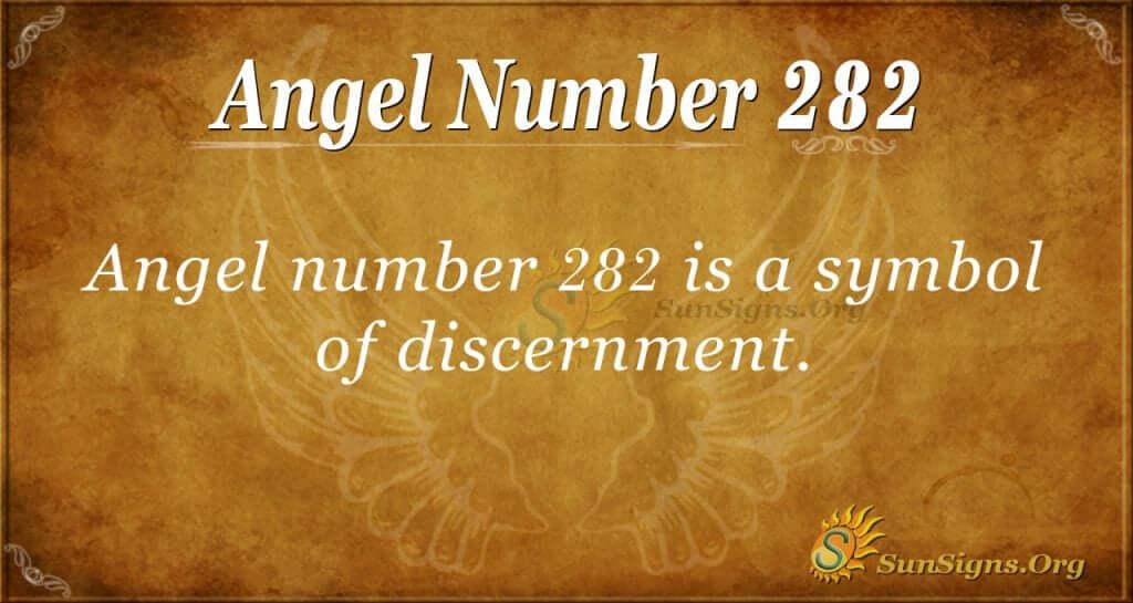 angel number 282