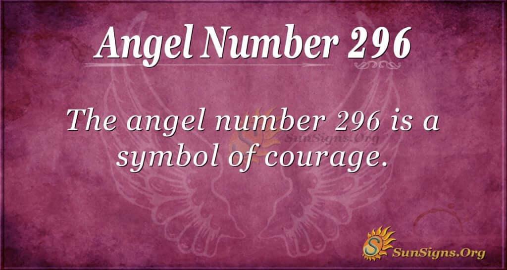 Angel Number 296