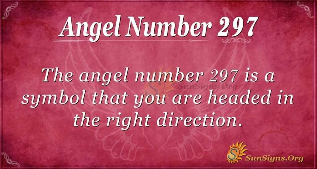 Angel Number 297