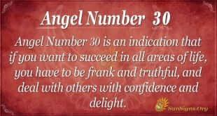 angel number 30