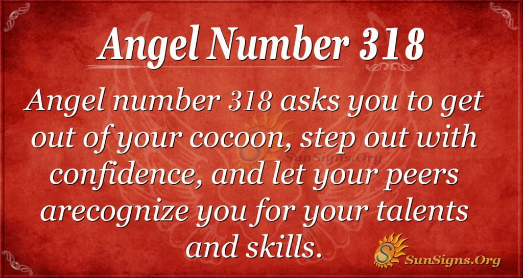 Angel Number 318