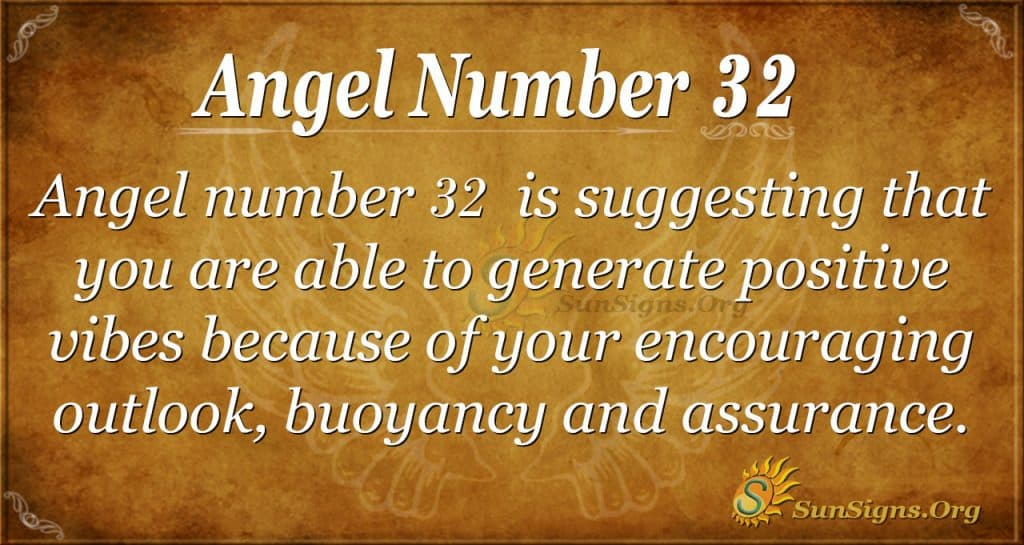 angel number 32