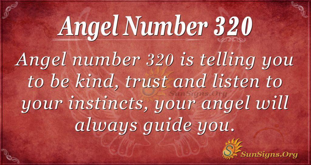 Angel Number 320